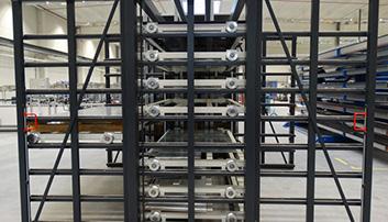 Dubbelzijdig model voor laden en lossen aan verschillende kanten